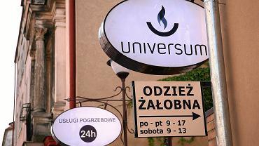 Firma pogrzebowa Universum w Poznaniu