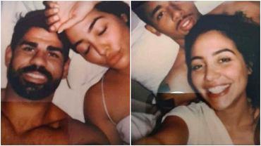 Diego Costa i Gabriel Jesus na zdjęciach z tą samą kobietą
