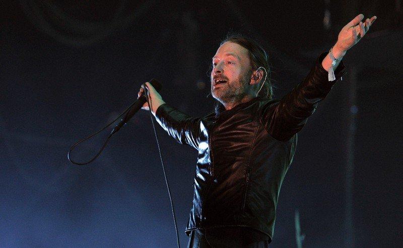 Thom Yorke, wokalista Radiohead