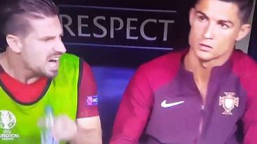 Adrien Silva i Cristiano Ronaldo