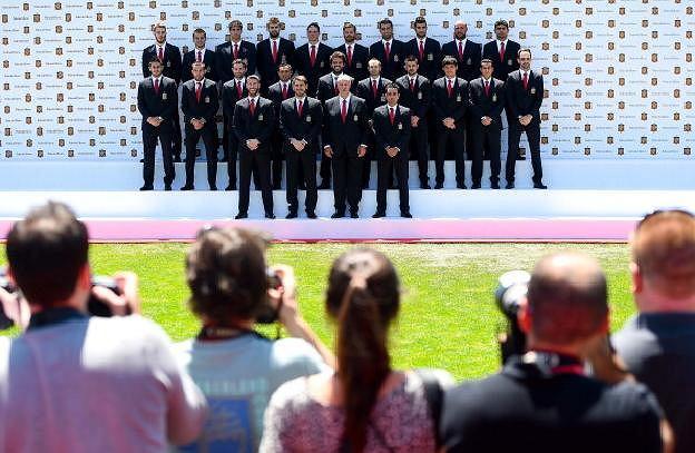 Oficjalna sesja La Roja przed MŚ 2014