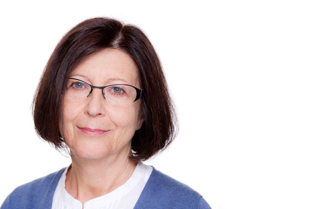 Prof. Ewa Trzebińska (fot. materiały prasowe SWPS)