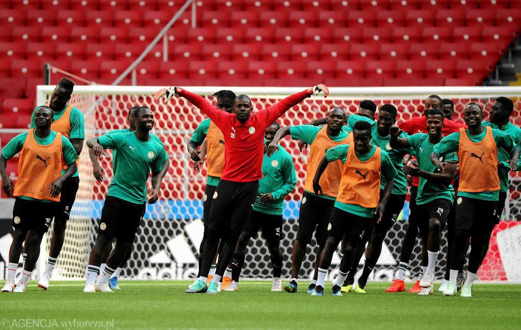 MŚ 2018. Polska - Senegal. Rywale trenowali w Moskwie