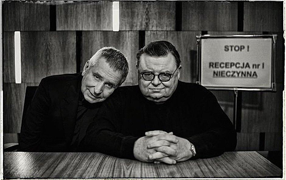 Krzysztof Materna i Wojciech Mann
