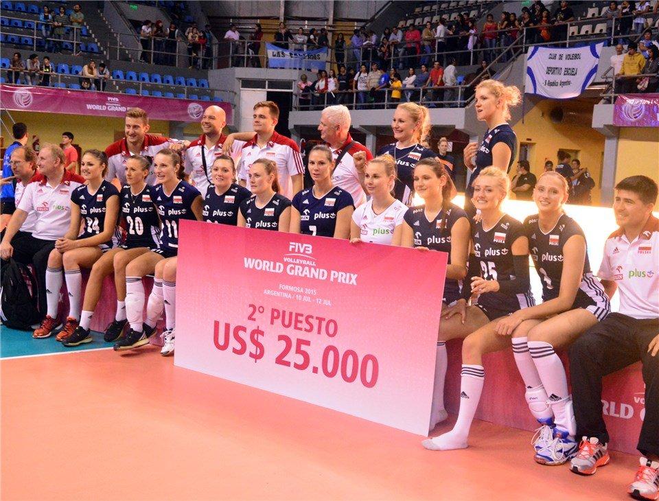 Polki zajęły drugie miejsce w turnieju w Argentynie