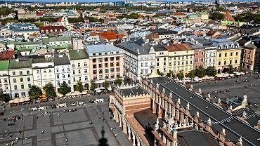 Rynek Główny - widok z Wieży Ratuszowej