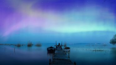 Zorza polarna, aurora borealis / fot. Shutterstock