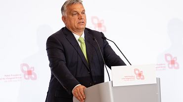 Premier Węgier Viktor Orban w Warszawie, 3 lipca 2020 r.