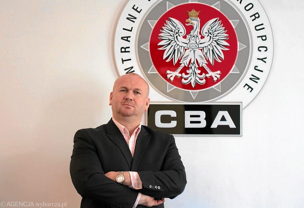 Były szef CBA Paweł Wojtunik.