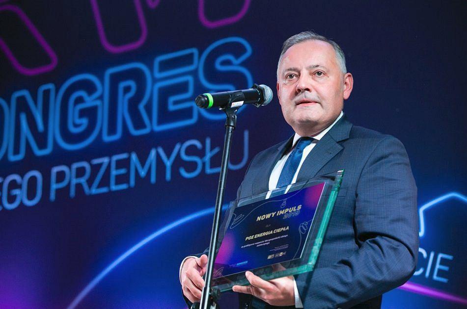 Wojciech Dąbrowski, nowy prezes PGE