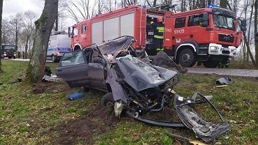 Wypadek w miejscowości Bojanówka. Nie żyje 56-letni mężczyzna