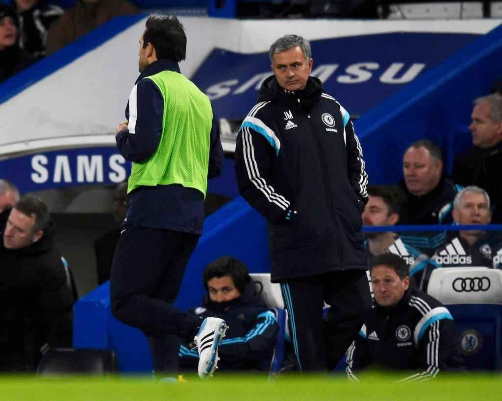 Frank Lampard i Jose Mourinho