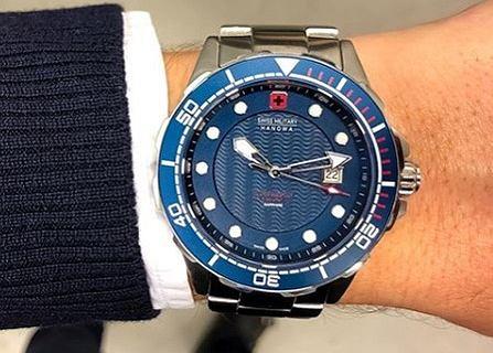 Zegarki szwajcarskiej marki Swiss Military nawet 70% taniej! Porządne modele męskie