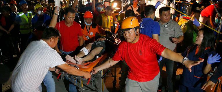 Trzęsienie ziemi na Filipinach.