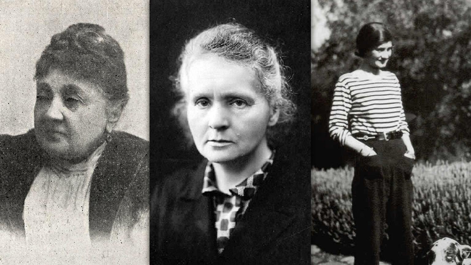 Gabrielle Chanel, Maria Skłodowska i Lucyna Ćwierczakiewiczowa.