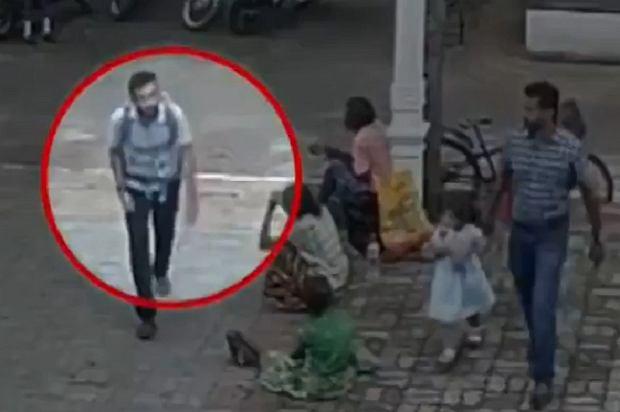 Nagranie z domniemanym zamachowcem ze Sri Lanki