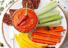 Dip paprykowy do świeżych warzyw