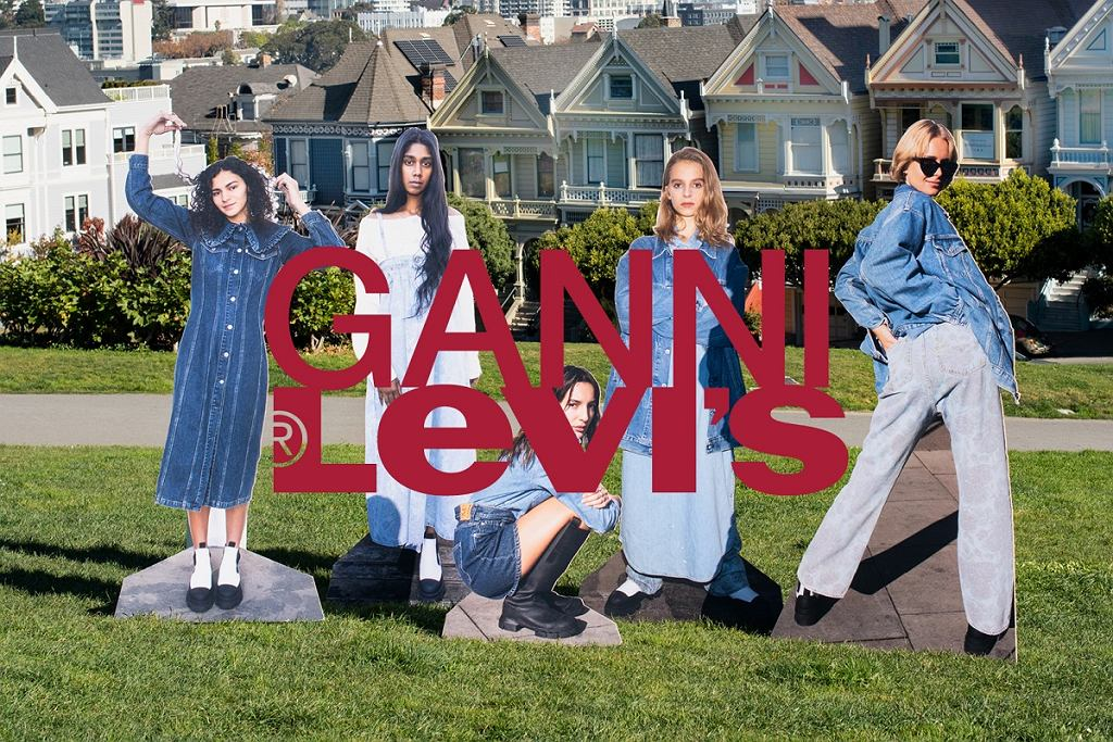 GANNI x Levi's - współpraca