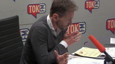 Piotr Kraśko w 'Poranku Radia TOK FM'