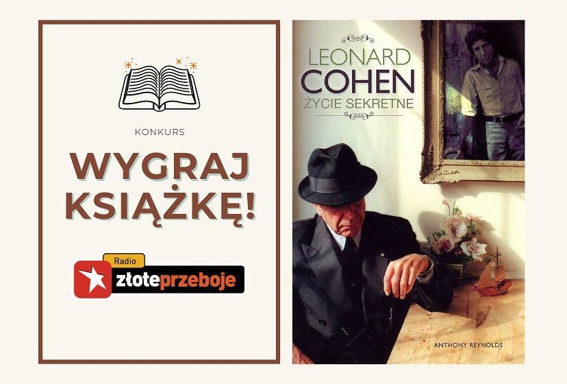 Wygraj książkę 'Leonard Cohen. życie sekretne'!