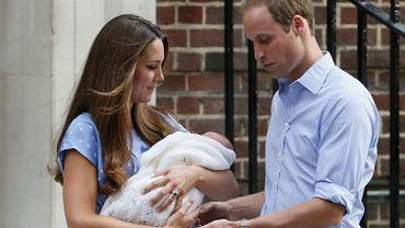 Księżna Kate i książę William pokazali syna