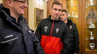 Igor Angulo, napastnik Górnika Zabrze. Razem z Marcinem Urynowiczem, kolegą z drużyny