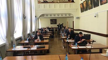 Sesja rady miasta Katowice w czasie pandemii koronawirusa
