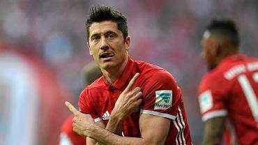Bayern - Borussia. Robert Lewandowski