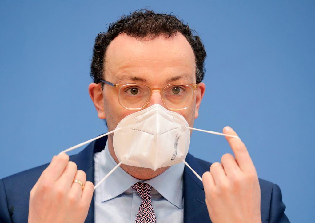 Niemiecki minister zdrowia Jens Spahn