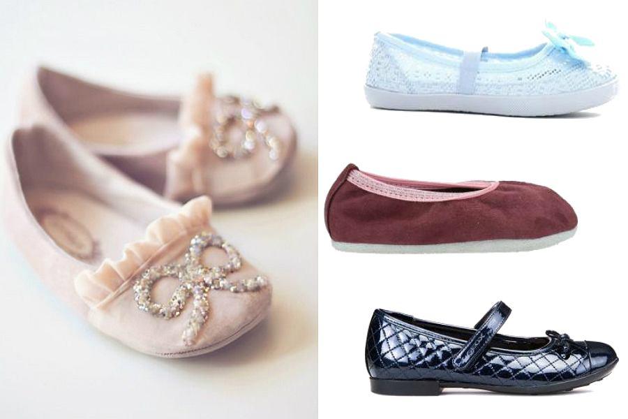 Buty dla dzieci - baleriny