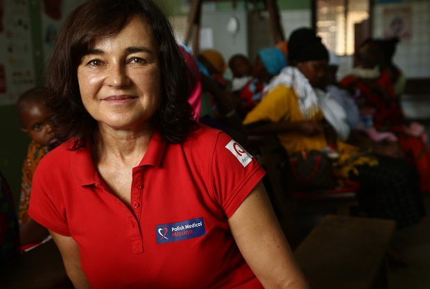Małgorzata Olasińska-Chart pracuje także przy projekcie wspierania kobiet w ciąży i walczy z ubóstwem menstruacyjnym