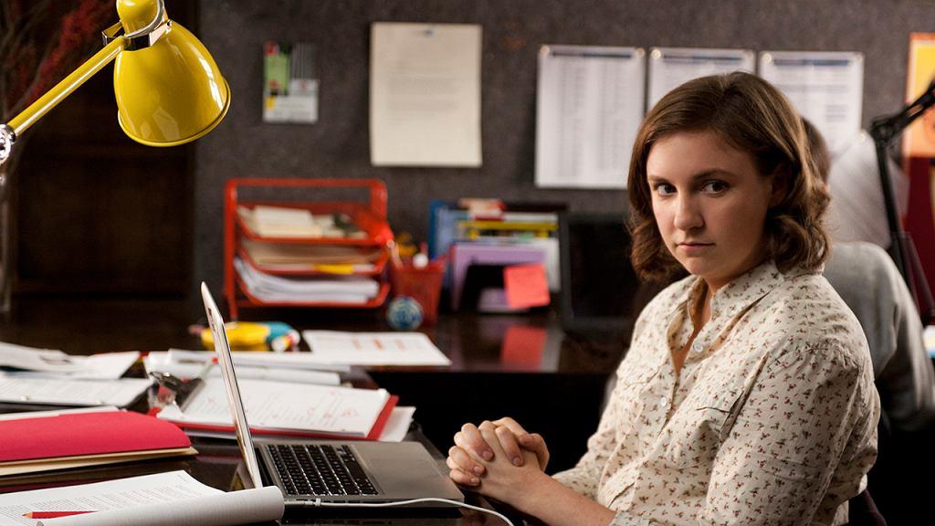 Lena Dunham w pierwszej serii serialu 'Dziewczyny' ('Girls') / Fot. HBO