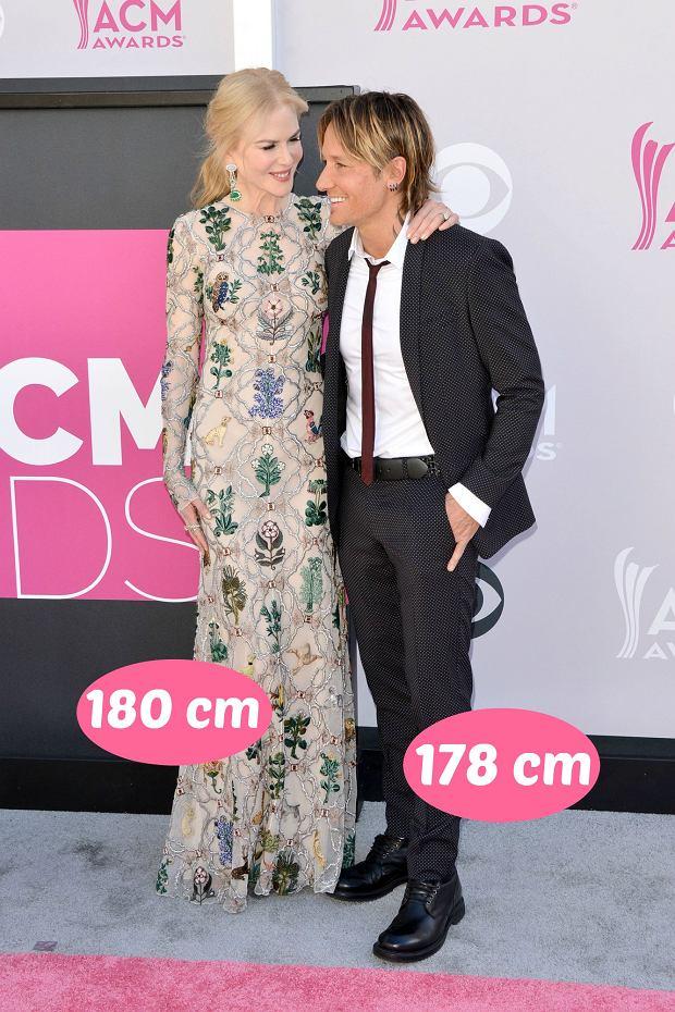 Zdjęcie numer 2 w galerii - Agnieszka Woźniak-Starak jest wyższa od męża prawie o głowę, ale rekordu nie ustanowiła. Te gwiazdy zakochały się w niższych partnerach