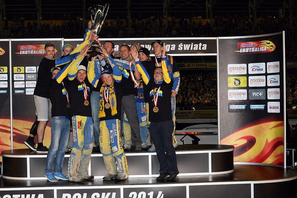 Żużlowcy Stali Gorzów drużynowym mistrzem Polski w 2014 roku!