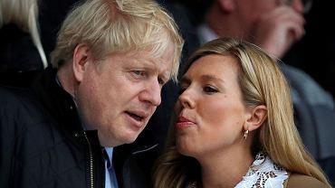 Boris Johnson z narzeczoną