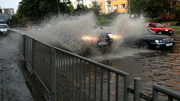 Ulewa nad Lublinem - zdjęcie ilustracyjne