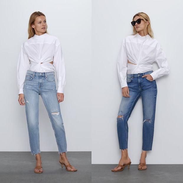 Wyprzedaż jeansów ZARA