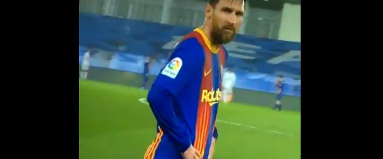 Messi nagle zaczął się trząść w trakcie meczu z Realem Madryt. Natychmiastowa reakcja [WIDEO]