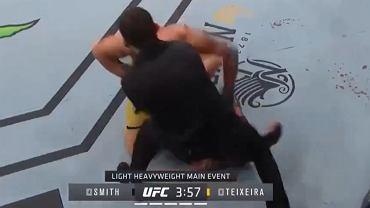 Teixeira wygrał na UFC