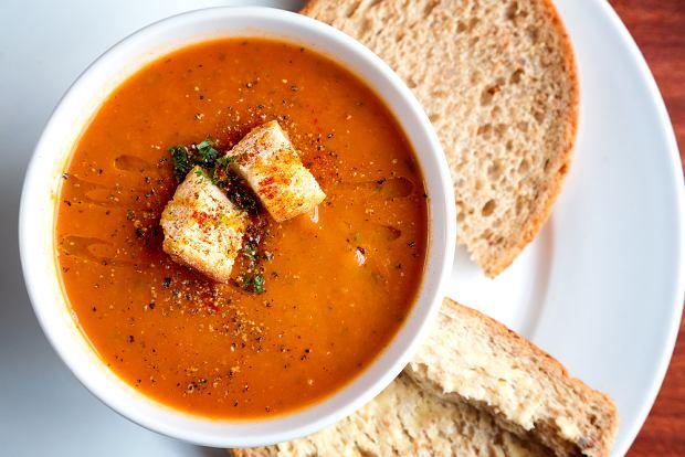 Krem pomidorowy - najlepsza zupa ze świeżych pomidorów