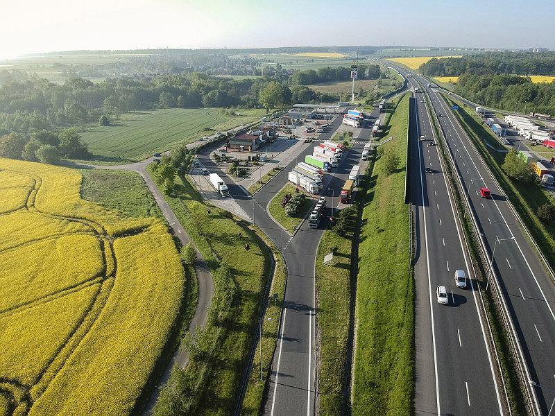 Autostrada, MOP, Miejsce Odpoczynku Podróżnych
