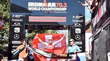 Daniela Ryf na mecie Mistrzostwa Świata IRONMAN 70.3