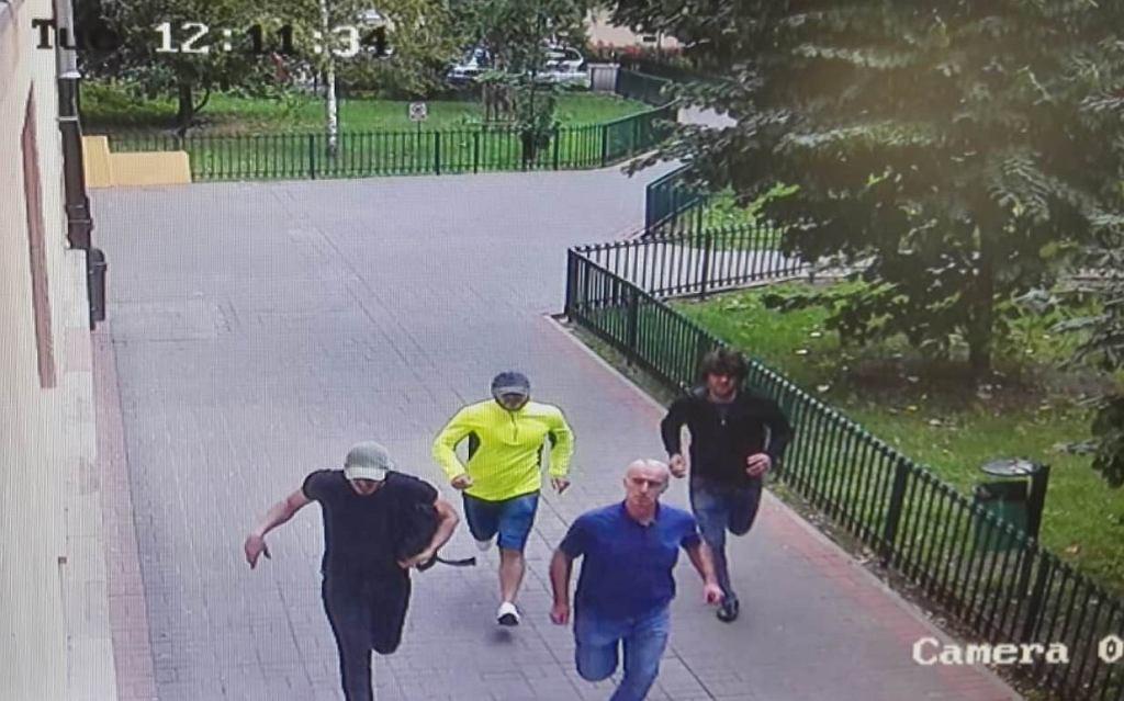 Policjant pobity. Policja szuka tych mężczyzn
