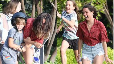 Ana de Armas z dziećmi Bena Afflecka