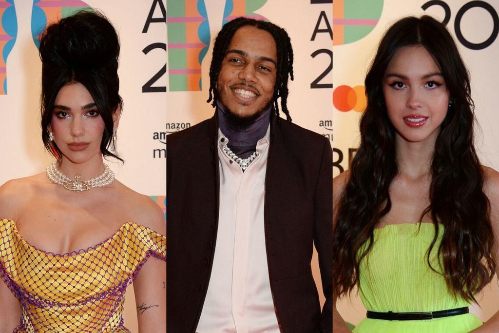 Dua Lipa, AJ Tracey, Olivia Rodrigo - Brit Awards 2021