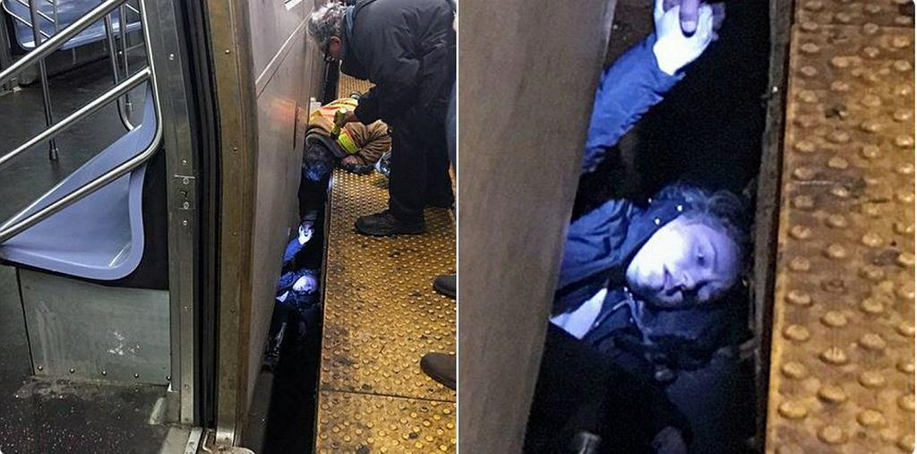 22-latka wpadła pod pociąg metra w Nowym Jorku