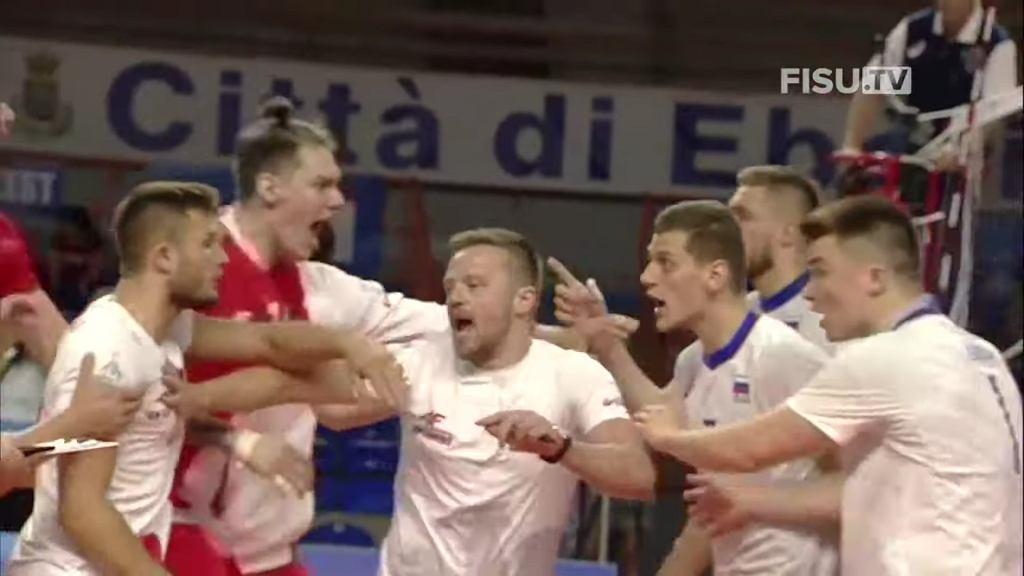 Szarpanina po meczu Polski z Rosją na Uniwersjadzie