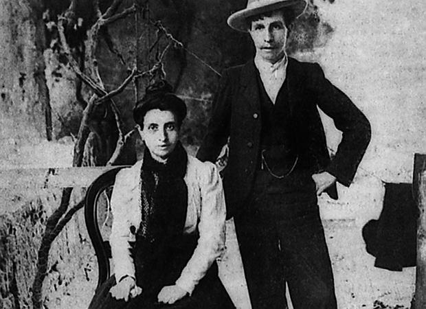 Marcela i Eliza po wyjściu z aresztu (fot. Domena publiczna)