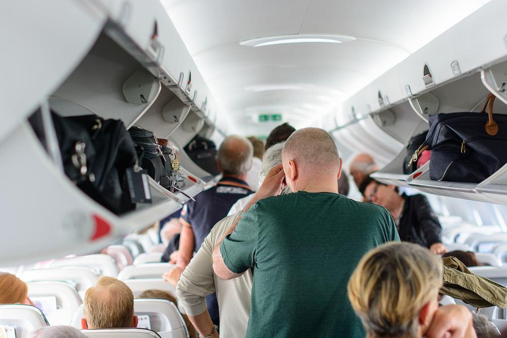 Włochy. Zakaz wnoszenia bagażu podręcznego na pokład samolotu