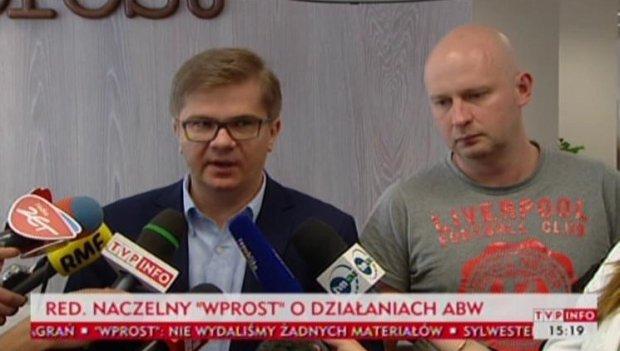Michał Majewski i Sylwester Latkowski
